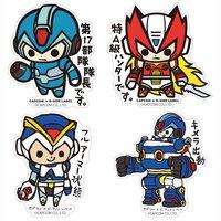 Capcom x B-Side Label Mega Man X Stickers