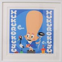Shibuya Pixel Art Artist Works: Yosuke Kihara Original Art Print