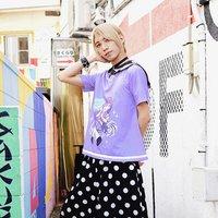 ACDC RAG Menhera-chan Yumekawa-chan Short Sleeve Sailor T-Shirt