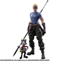 Play Arts Kai Final Fantasy VII: Advent Children Cid Highwind & Cait Sith