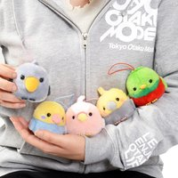 Kotori Tai Ureshii Bird Plush Collection (Mini Strap)