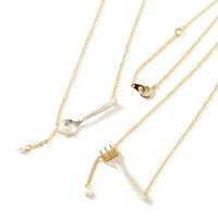 gargle Cutlery Necklaces