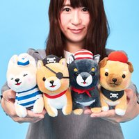 Mameshiba San Kyodai Kaizoku Gokko Dog Plush Collection (Standard)