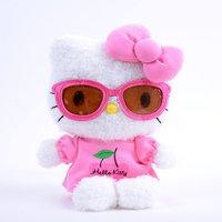 Hello Kitty Bean Doll Sunglasses Plush