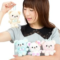 Nuikuma no Chikku Dressed Up Bear Plush Collection (Ball Chain)