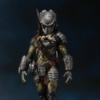 S.H.MonsterArts Alien vs. Predator 2 Predator Wolf