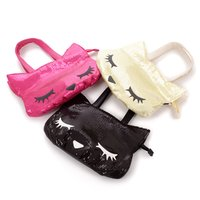 Pooh-chan Sequin Tote Bag