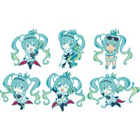 Racing Miku 2018 Ver. Nendoroid Plus Collectible Rubber Keychains Box Set