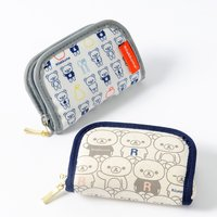 Rilakkuma Zip-Open Coin Pouches