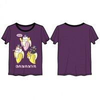Bananya 3 Kittens Ringer T-Shirt