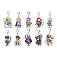 Pikuriru! Fate/Grand Order Trading Acrylic Keychain Charms Vol. 6 Box Set