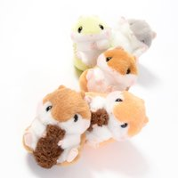 Coroham Coron to Risu-chan Hamster Plush Collection (Ball Chain)