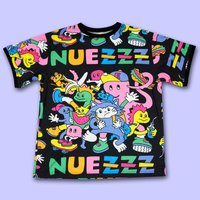 NUEZZZ ZZZ PiCNiC All-Over Print T-Shirt
