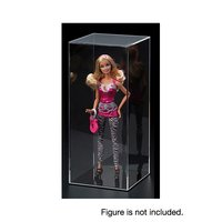 Tall Acrylic Display Case w/ Black Pedestal