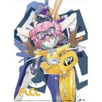 FLCL Haruko on Vespa Wall Scroll