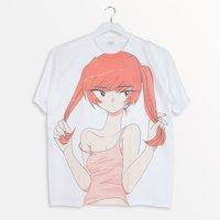 Shiritsu Yami Pastel Gakuen x PARK Nagi Ichibangassen Graphic T-Shirt