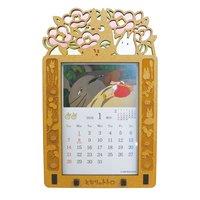 My Neighbor Totoro 2018 Stained Frame Calendar