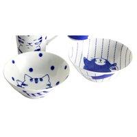 Friendly Cat Mino Ware Bowls