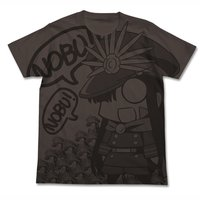 Fate/Grand Order Nobu Gudaguda Honnouji Charcoal Graphic T-Shirt