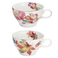 Hana Ozato Mino Ware Soup Cups
