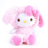 Hello Kitty Pink Bunny Plush