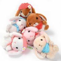 Pote Usa Loppy Zukin Rabbit Plush Collection (Ball Chain)