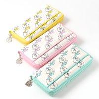 Kumatan Glitter Zip-Around Wallet