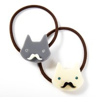 Osewaya Mustache Cat Hair Tie