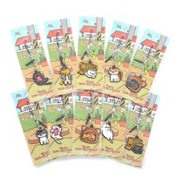 Neko Atsume 3-Way Rubber Straps