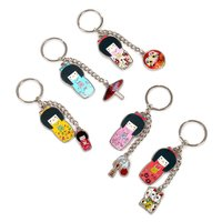 Souvenir Japan Wagokoro Japanese-Style Keychain Collection