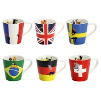 National Flag Cat Mugs