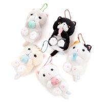 Jareteru Munchkin Cat Ball Chain Plush Collection