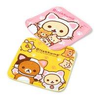 Rilakkuma Nonbiri Neko Petite Towels