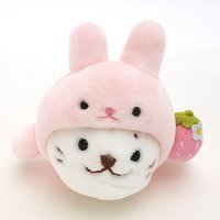 Sirotan Strawberry Bunny Plush Mascot