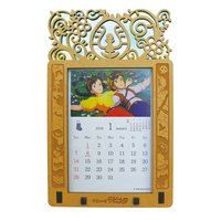 Laputa: Castle in the Sky 2018 Stained Frame Calendar