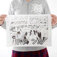 Shonen Jump Reproduction Panel Print: One Piece - B
