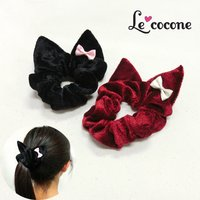 Le cocone Girly Rock Cat Series Cat Ear Scrunchie