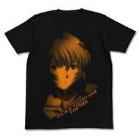 Rebuild of Evangelion Rei Ayanami Black Graphic T-shirt