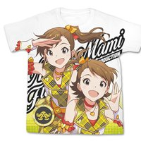The Idolm@ster One For All Ami & Mami Futami Full-Color White T-Shirt