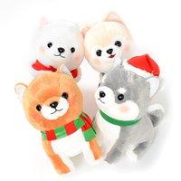 Mameshiba San Kyodai Christmas Dog Plush Collection (Big)