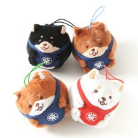 Chuken Mochi Shiba Tumbling Mini Plush Collection