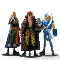 Super One Piece Styling: The New Movement Trading Figures