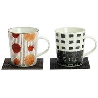 Waori Mino Ware Mug & Coaster Set