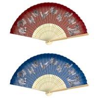 Monster Hunter XX Japanese-style Folding Fan