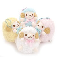 Wooly Sheep Ball Chain Plush Collection