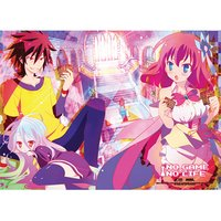 No Game No Life Playing Cards Fabric Poster