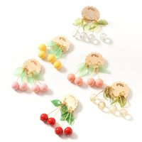 gargle Sweet Cherry Earrings