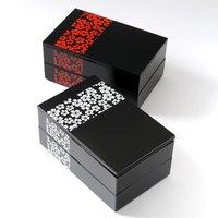 Sakurako Square 2-Tier Bento Box