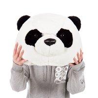 Kaburu Panda Plush Mask