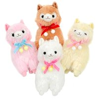 Alpacasso Pompom Velvet Ribbon Alpaca Plush Collection (Standard)